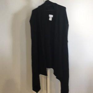 Witchery sleeveless knit wrap top. Size XXS/XS